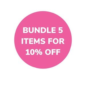 Other - BUY 5 ITEMS AND GET 10% OFF ALL OF THEM!!